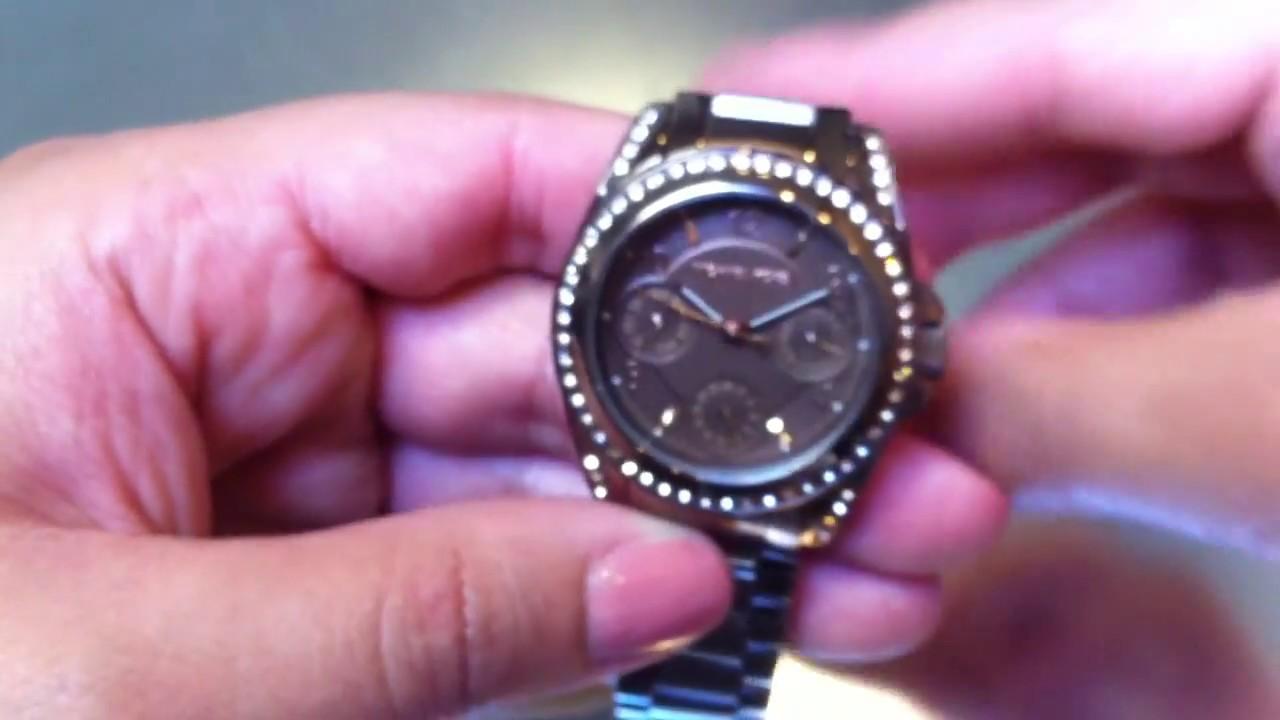 fbc15dedc162 Women s Michael Kors Blair Multifunction Glitz Watch MK5614 - YouTube