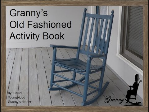 Coming Soon Granny's Old Fashioned Activity Book