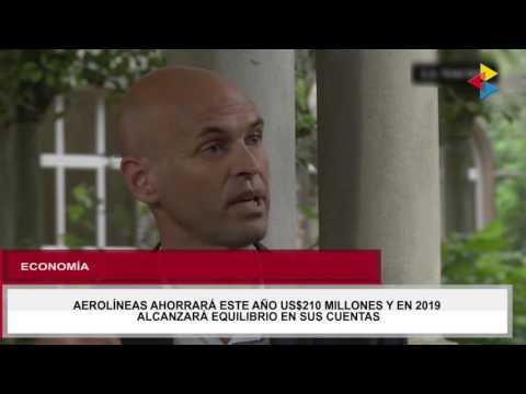 Tua Noticias: Aerolíneas ahorrará este año US$210 millones, en 2019 alcanzará equilibrio