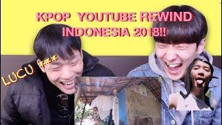 Download lagu [oppa! HOONIE] REAKSI KOREA K-POP YOUTUBE REWIND INDONESIA 2018: HIT U WITH MY TEMPO REACTION