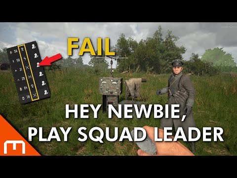 Hell Let Loose - NEWB, Play Squad Leader! |