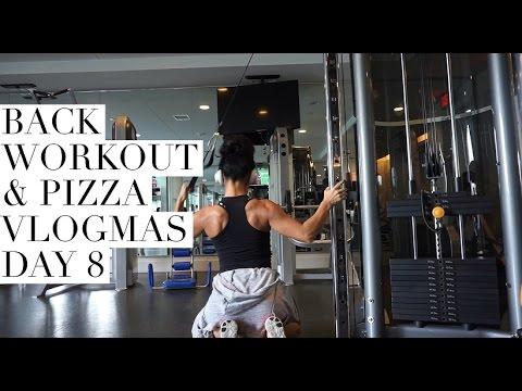 Full Back Workout   Magic Santa Photoshoot   Vlogmas Day 8 thumbnail