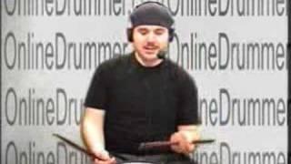 "Drum Lesson ""Traditional Grip Backsticking Technique"""