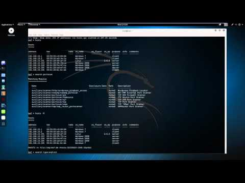 MetaSploit tutorial for beginners