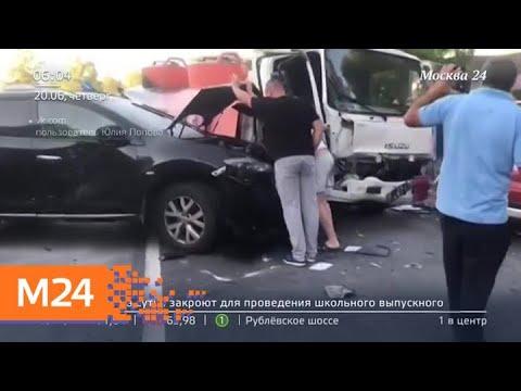 Актуальные новости Москвы за 20 июня - Москва 24