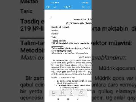 Azərbaycan dili 8-ci sinif BSQ-1 suallarının video həlləri.(1-10-cu suallar)
