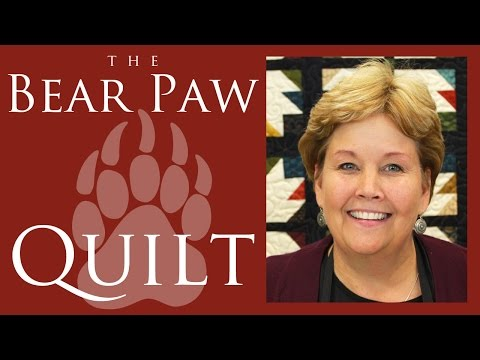 make-a-bear-paw-quilt-with-jenny-doan-of-missouri-star!-(video-tutorial)
