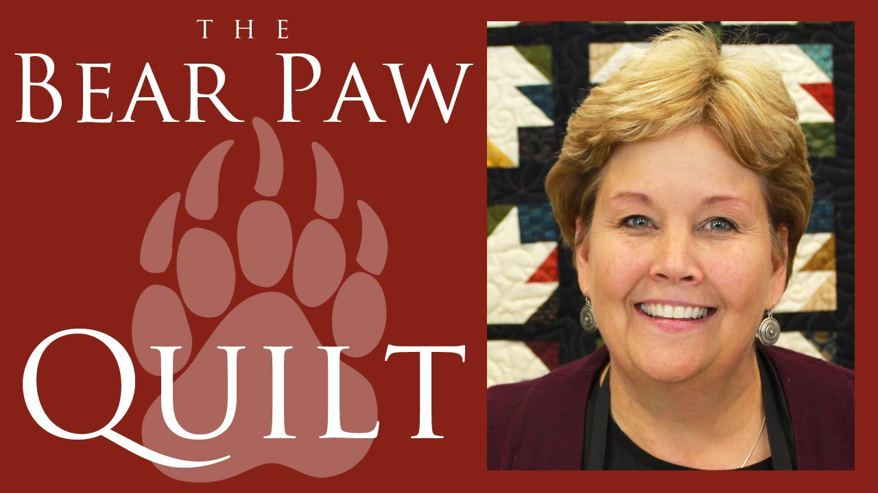 The Bear Paw Quilt Easy Quilting Tutorial With Jenny Doan Of