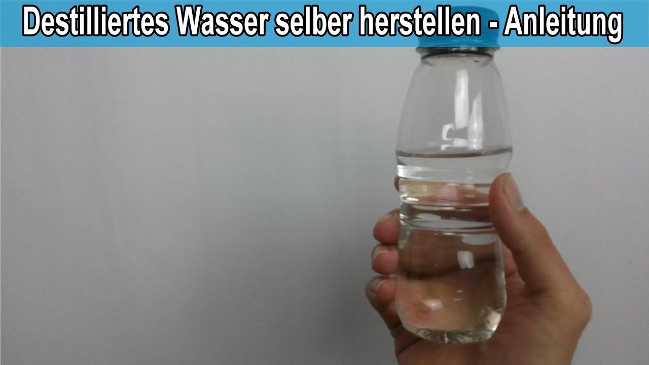 Atemberaubend Destilliertes Wasser selber machen – Anleitung / Destilliertes @RU_08