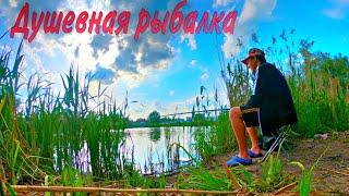 Рыбалка на ПОПЛАВОК летом Жор АМУРА Душевная рыбалка