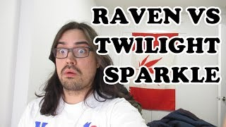 Pothead Reacts 2 Raven VS Twilight Sparkle (DC VS My Little Pony) | ScrewAttack! LIVE