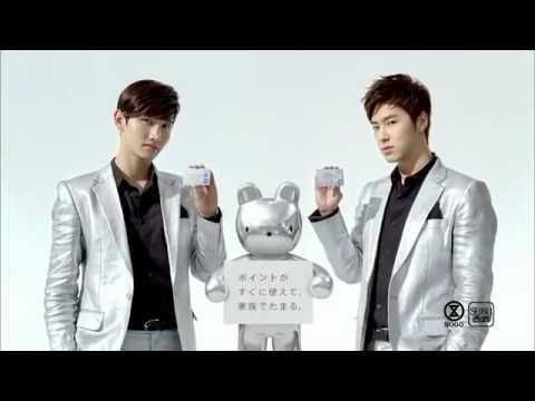 TVXQ - Changmin & Yunho - Seven & I Holdings Sogo & Seibu point card