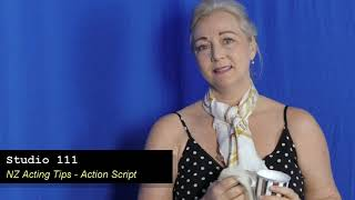 Sally Spencer Harris Acting Tip 24 -  Action Script
