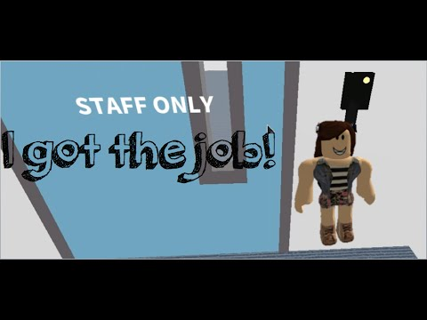 Hilton Hotel Roblox - I'm finally Working!