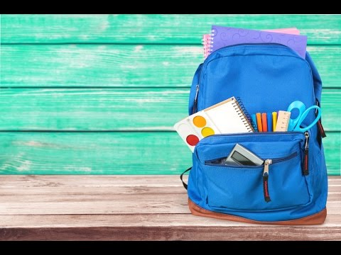 How heavy is too heavy, when it comes to your child's backpack?