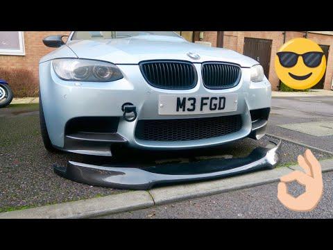 My 'NEW' BMW E92 M3 Carbon Front Splitter Lip! (Vorsteiner V Style)