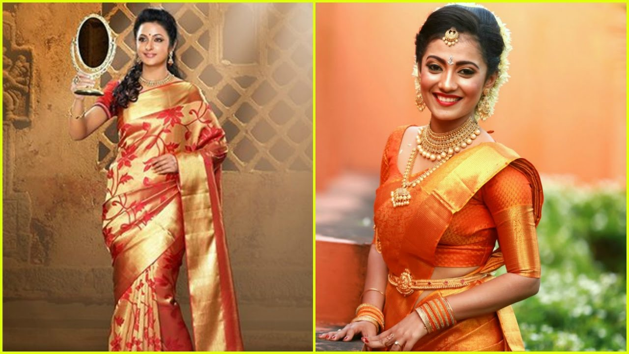 15 Beautiful South Indian Bridal Saree Designs