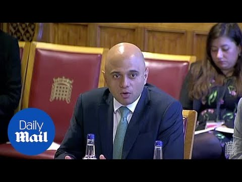 Sajid Javid admits iPhone users can't use new app for EU citizens