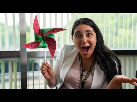 DIY Watermelon Pinwheel Craft - Camp Little Victors on YouTube