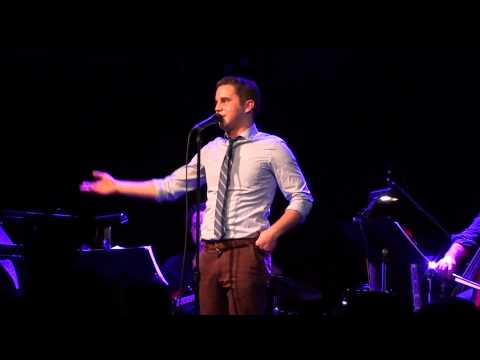 Ben Platt - Georgia On My Mind + funny story (live) @ Le Poisson Rouge, 2/10/14