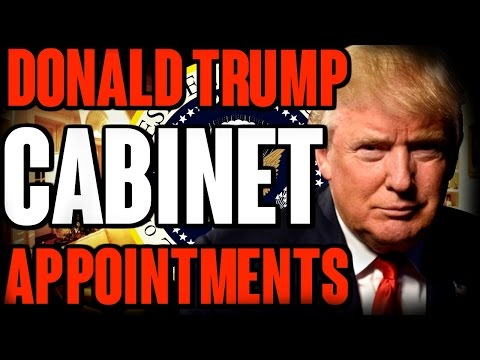 Donald Trump Cabinet Appointments | The Millennial Revolt