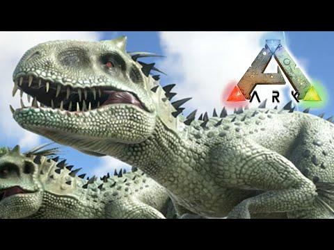 ARK - Survival Evolved - INDOMINUS REX IN ARK! (ARK MOD)