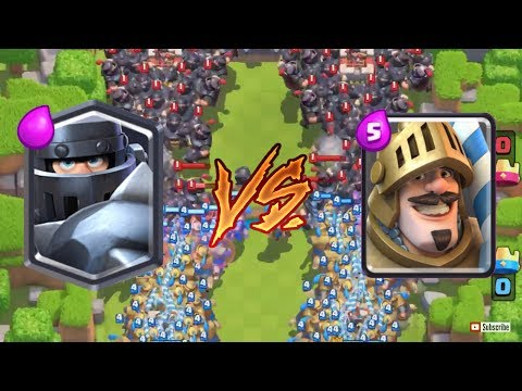 Mega Knight VS Prince | CLASH ROYALE MEGA CHALLENGE | Who is better? #5
