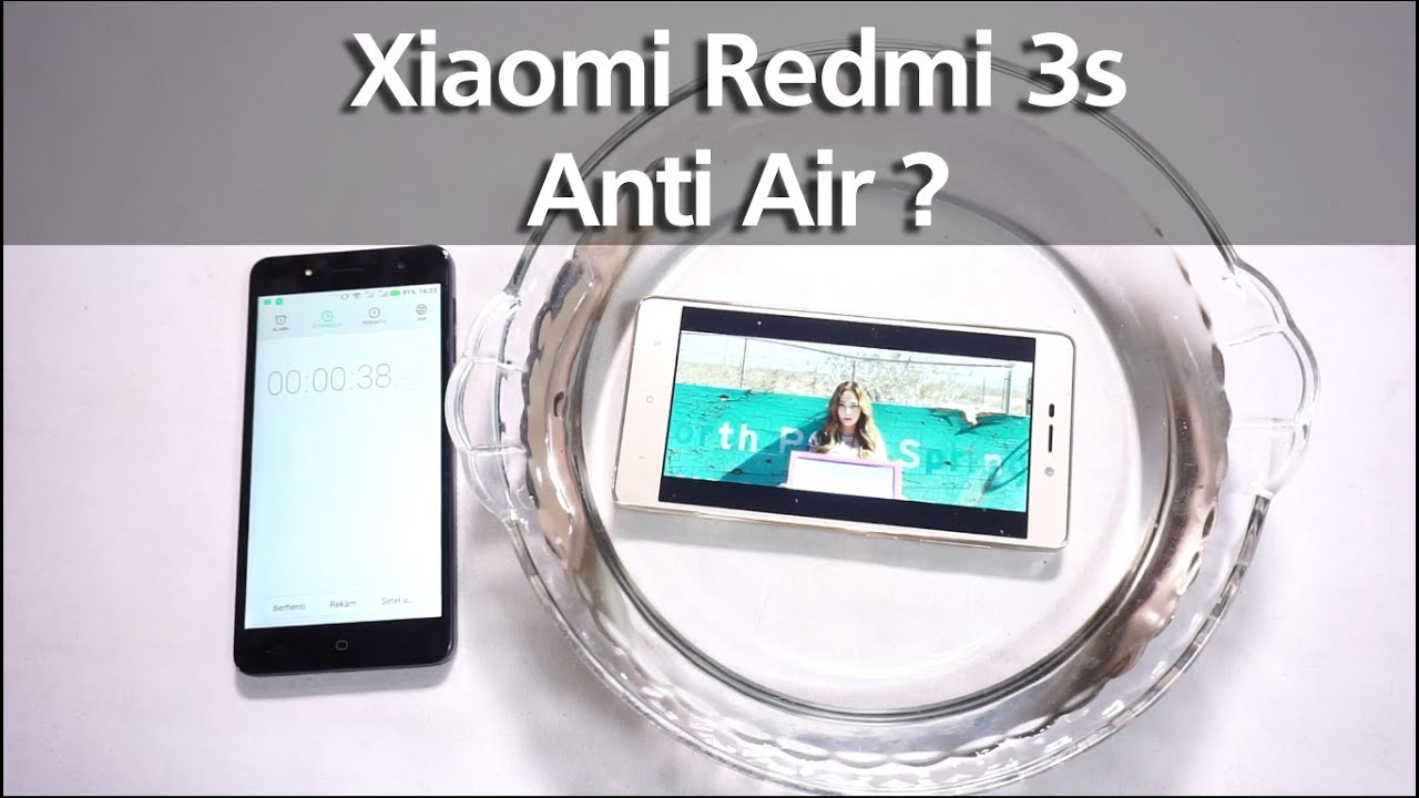 Xiaomi Redmi 3s Anti Air Water Resistance Test Indonesia With