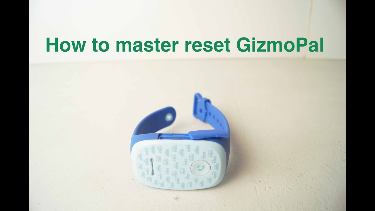 GizmoPal  How to master reset