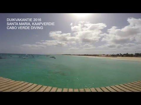 Diving holiday 2016 - Santa Maria, Cape Verde.