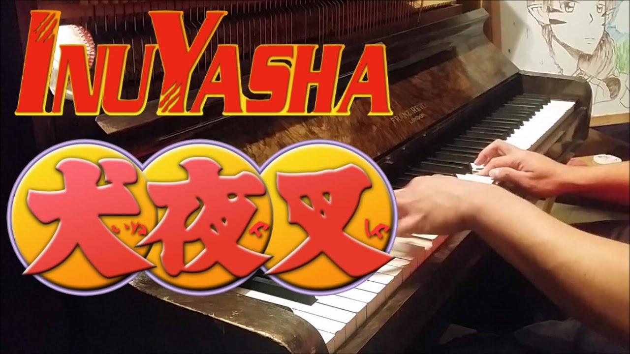 """InuYasha Opening 6 - """"Angelus"""" (Piano w/ Lyrics) - YouTube"""