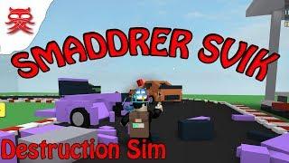 Smaddrer Svik - Destruction Sim - Dansk Roblox
