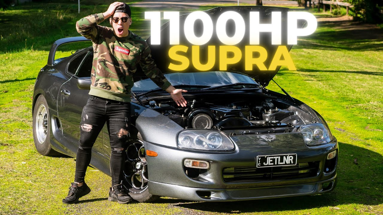 1100HP MK4 TOYOTA SUPRA (2JZ) *RELEASING PARACHUTE ON THE STREET* | CAR REVIEW