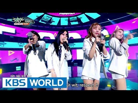 MAMAMOO - AZE GAG | 마마무 - 아재개그 [Music Bank COMEBACK / 2017.06.23]