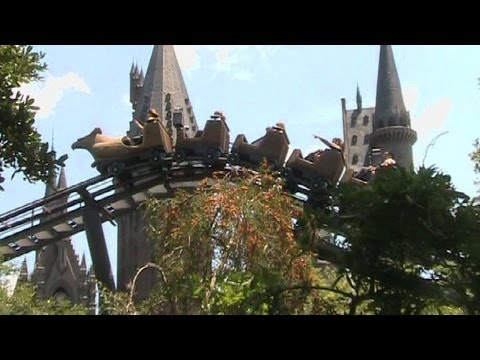 Flight of the Hippogriff off-ride HD Universal Studios Islands of Adventure