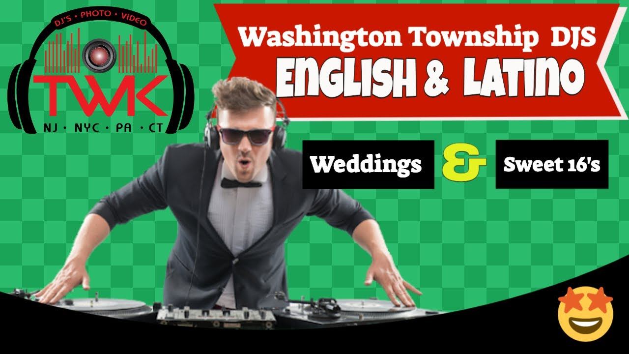 👰🏻 Wedding Dj In Washington Township | Washington Township Wedding DJ | DJs in Washington Township
