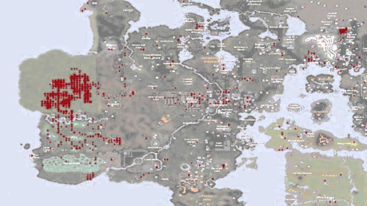 RuneScape - Heat Map zeigt riesigen Ansturm auf die neue ...
