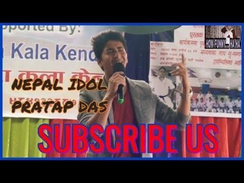 NEPAL IDOL / PRATAP DAS SINGING A COVER SONG/ NA NA NA .... ANMOL K.C/JERRY MOVIES 2018,KRI