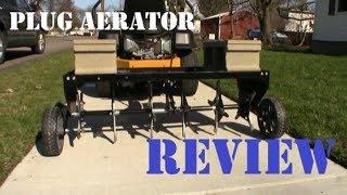 Lawn Aerator - Agri-Fab Plug Aerator Review | Lansing Lawn Service