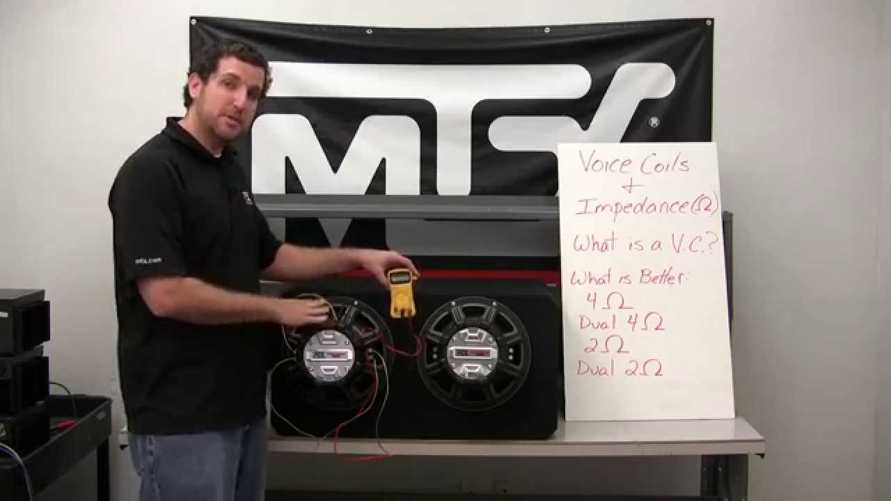hight resolution of how to wire your subwoofers to the correct impedance for your amplifier
