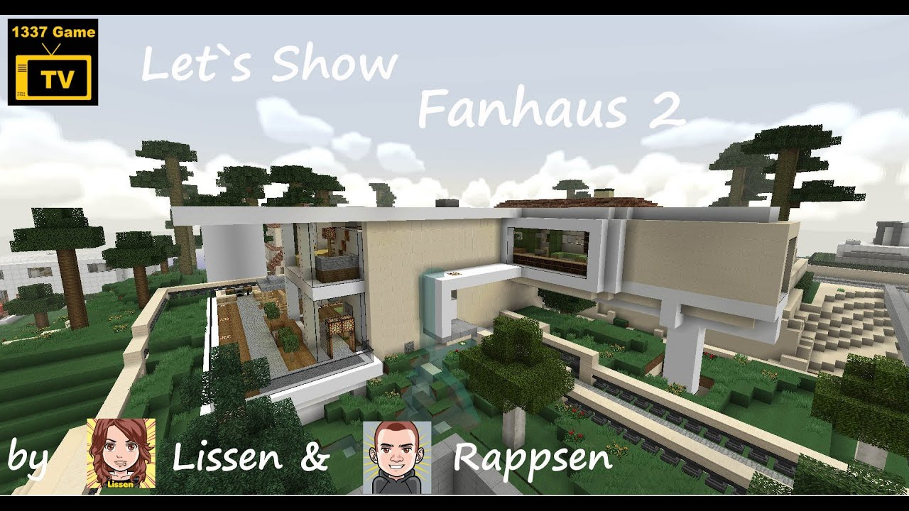 -=Minecraft=- Let`s show Fan-Haus 2 - YouTube