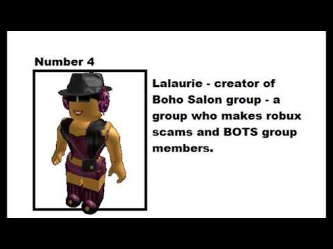 Top 15 Most Hated Roblox Users 2007 - 2017 (READ DESCRIPTION)