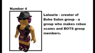 Top 15 Most Hated Roblox Users 2007 - 2017 (READ DESCRIPTION) thumbnail
