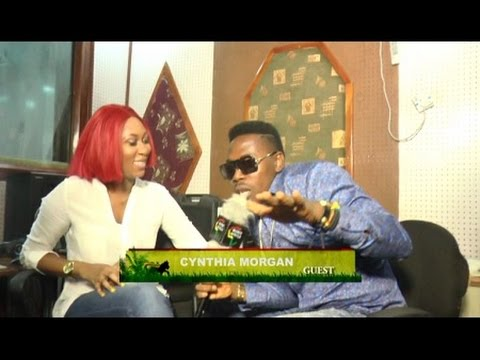 Freestyle patois Interview with Cynthia Morgan live on Raggae Jamz Music Africa.