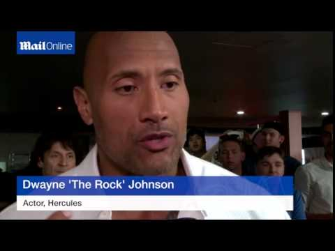 Dwayne 'The Rock' Johnson attends Hercules Sydney premiere