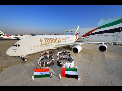 Emirates employees share a special message for India 68th Republic Day