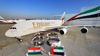 Emirates employees share a special message for India 68th Republic Day thumbnail