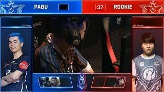 Rookie vs Pabu 1v1 Semi-final Highlights Bo3 | All-Star 2018 Day 3 | LPL vs OCE