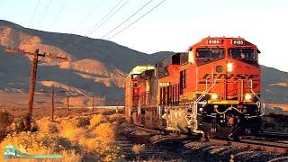TRAINS on Parade!  New power on Tehachapi Pass