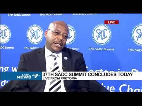 Lesotho's Letshego Maphuti on 37th SADC Summit